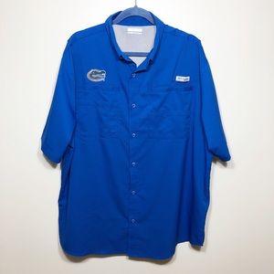 Columbia PFG Florida Gator Shirt w Omni Shade XL